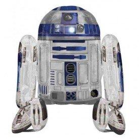 Globo andante R2D2 Star Wars (Empaquetado)