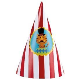 Gorros cono (8) Fisher Price Circus
