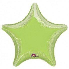 Globo con palo de 10 cm aprox Forma ESTRELLA KIWI1641399 Anagram