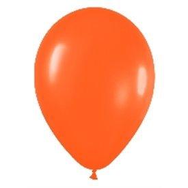 Globos (R-5) de 13 cm aprox Color Naranja Solido (100 ud)R5-061 Sempertex