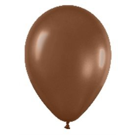 Globos (R-5) de 13 cm aprox Color Chocolate Solido (100 ud)R5-076 Sempertex