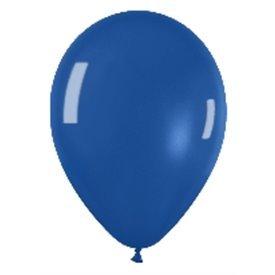 Globos (R-5) de 13 cm aprox Color Azul Efecto Metalico-Cristal (100 ud)R5-340 Sempertex