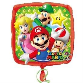 Globo Foil Mario Bros 45 cm (Empaquetado)