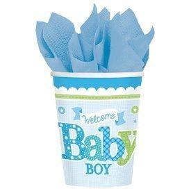 Vasos Bienvenido Baby Boy (8)581461 Amscan