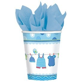 Vasos Baby Shower Boy Blue