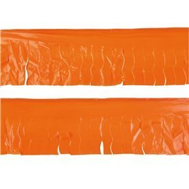 Guirnalda Flecos Plástico Naranja (25 Mts)