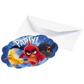 Invitaciones (8) Angry Birds9900935 Amscan