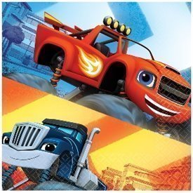 Servilletas Blaze y los Monster Machines (20)