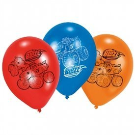 Globos látex (6) Blaze y los Monster Machines