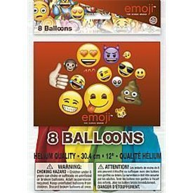 Globos latex Emoji (8)50615 Unique
