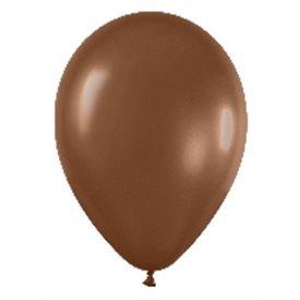 Globos Chocolate Solido R12 de 30 cm aprox (50 ud)R12-076 Sempertex