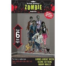 Decoracion Pared Zombies 165x85 (2)673128 Amscan