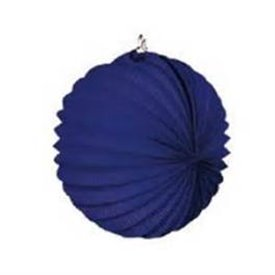 Farolillo de papel color Azul Oscuro, de 22 cm.61214 Industria Verbenera Castellonene, s.a.