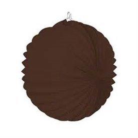 Farolillo de papel color Marron Chocolate, de 22 cm.