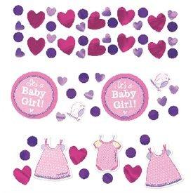 Confeti Baby shower Girl Rosa