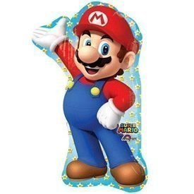 Globo foil forma Mario Bros. (Empaquetado)3201001 Anagram