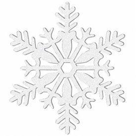 Decoracion colgante mini Copo de Nieve (4)191360 Amscan