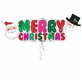 Globo Merry Christmas foil3397001 Anagram