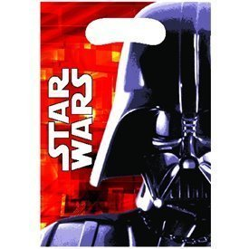 Bolsas chuches/juguetes de Star Wars Darth Vader (6)83240 Procos