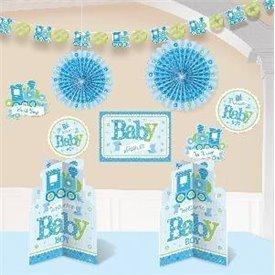Kit Decoracion Baby Boy240889 Amscan