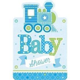 Invitaciones Baby Shower Boy (8)491461 Amscan