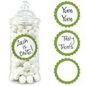 Pegatinas candy borde verde kiwi (20)