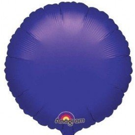 Globo Con Forma de Circulo de Aprox 45cm Color MORADO -2059702 Anagram