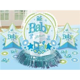 Kit decoracion mesa Baby Shower Niño281461 Amscan