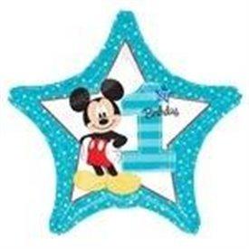 Globo Mickey Estrella 1º Cumpleaños