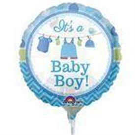 Globo Baby Boy Palito