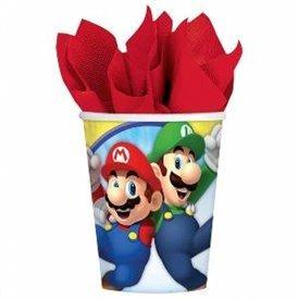 Vasos Super Mario Bros (8)581554 Amscan