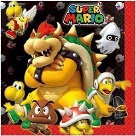 Servilletas Super Mario Bros (16)511554 Amscan
