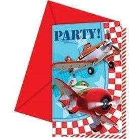 Invitaciones Aviones Planes (6)