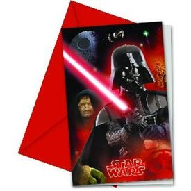 Invitaciones Star Wars & Heroes (6)