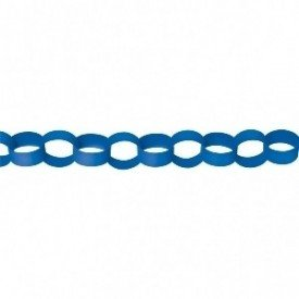Guirnalda Cadeneta Color Azul Fuerte (4 m Aprox)220075-105-55 Amscan