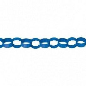 Guirnalda Cadeneta Color Azul Fuerte (4 m Aprox)