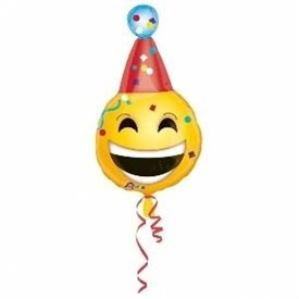 Globo Emoji Fiesta 45 cm (Empaquetado)3362901 Anagram