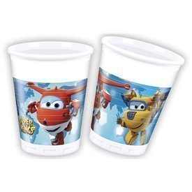 Vasos Super Wings (8)