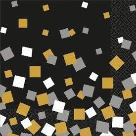 Servilletas Confetti Sparkling (16)511641 Amscan
