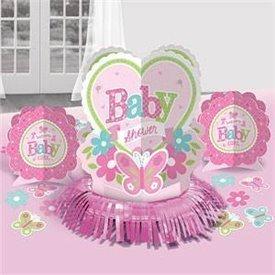 Kit decoracion mesa Baby shower Girl (23piezas)281458 Amscan