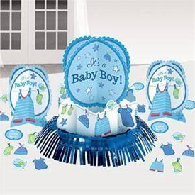 Kit decoracion mesa Baby Boy (23piezas)