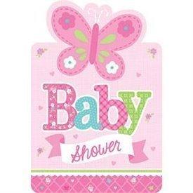 Invitaciones Baby Shower Girl (8)491458 Amscan