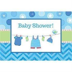 Invitaciones Baby shower Boy (8)491491 Amscan