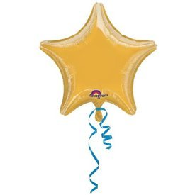 Globo Estrella color Oro de Aprox 80cm1611799 Anagram