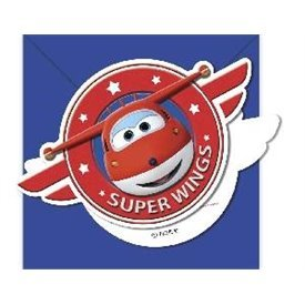 Invitaciones Super Wings (6)88389 Procos