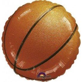 Globo Foil Redondo (45 cm) Baloncesto (Sin Inflar)117020-01 Amscan