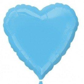 Globo Con Forma de Corazón de Aprox 45cm Color PALE BLUE2245702 Anagram