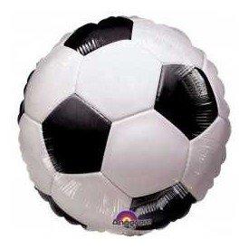 Globo Foil Redondo (45 cm) Futbol (Sin Inflar)117040-01 Amscan