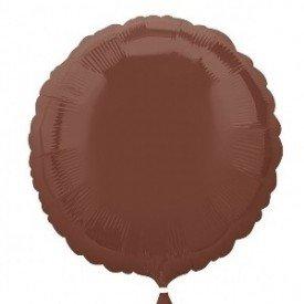 Globo Con Forma de Circulo de Aprox 45cm Color CHOCOLATE-2300302 Anagram