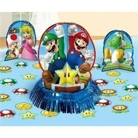 Kit decoracion mesa Super Mario Bros